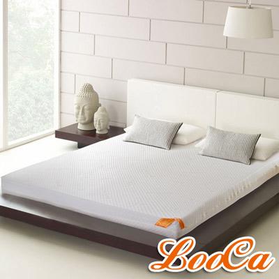 LooCa 特級天絲12cm釋壓記憶床墊-單大3.5尺