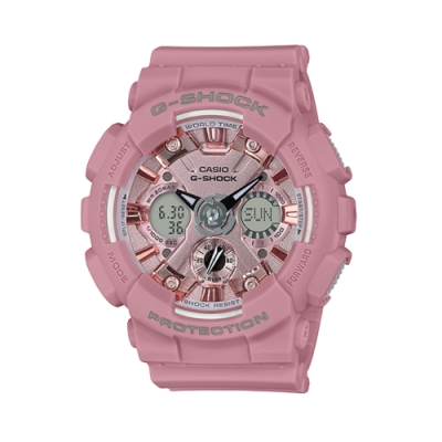 CASIO G-SHOCK/魅力圈專屬時尚運動腕錶/GMA-S120DP-4ADR