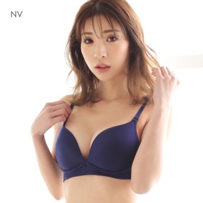 aimerfeel 輕鬆舒適無痕內衣-海軍藍-709613-NV