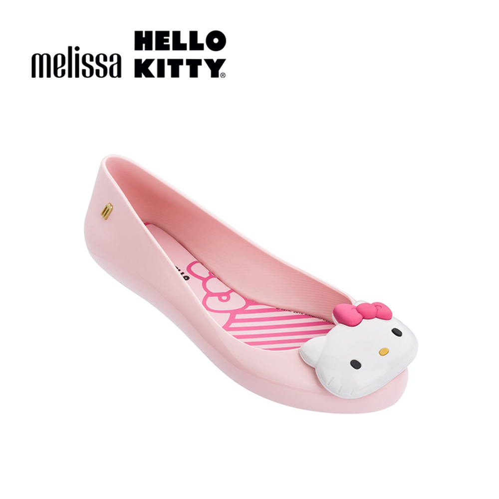 Melissa X HELLO KITTY 娃娃鞋-粉色