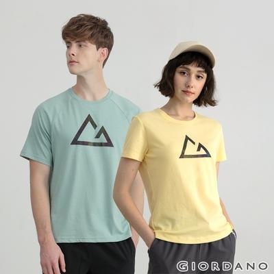 【時時樂】GIORDANO 男/女裝 G-MOTION吸濕排汗上衣(多色任選)