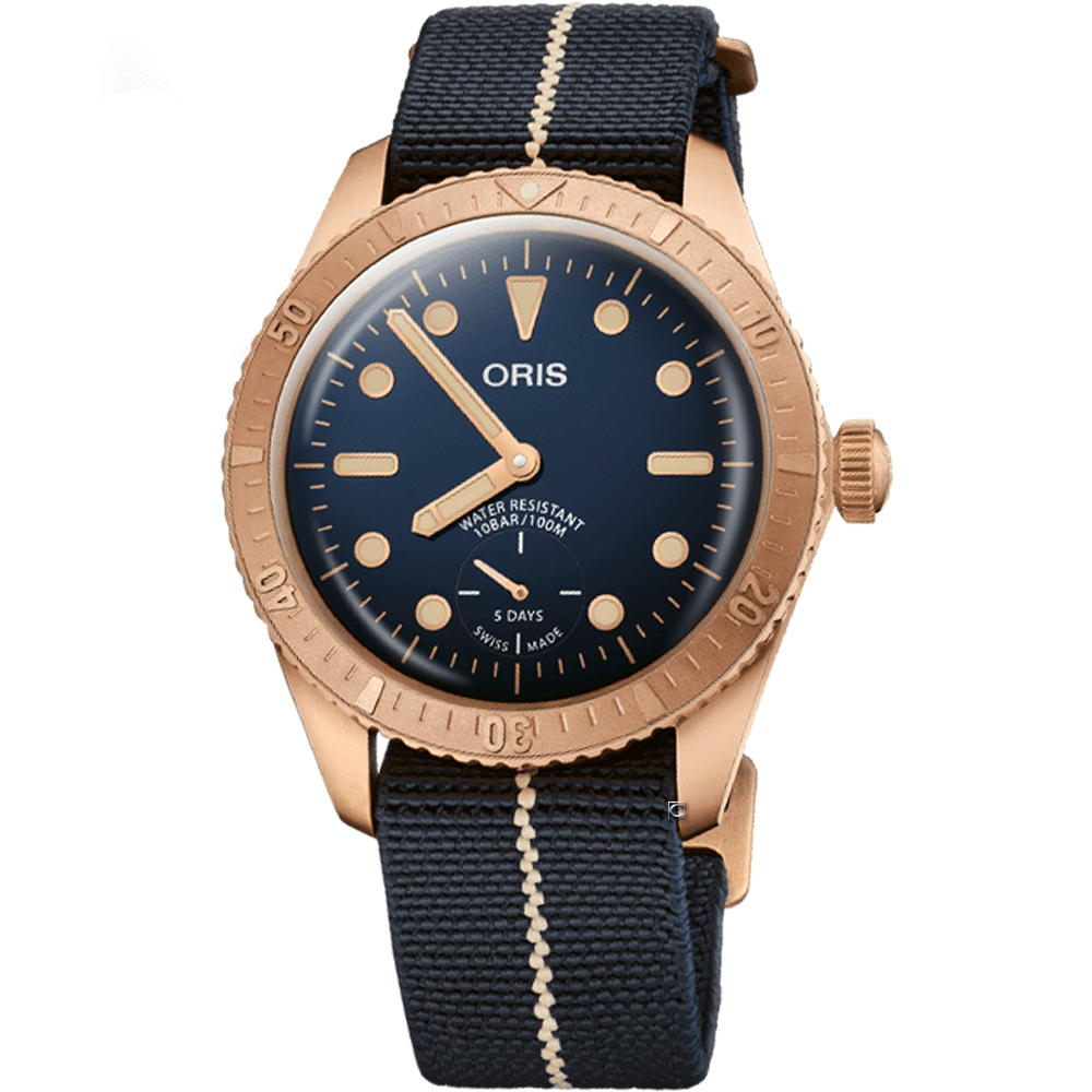 ORIS CARL BRASHEAR CAL.401限量青銅機械錶/0140177643185-Set/40mm