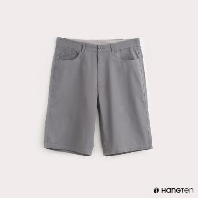 Hang Ten-ThermoContro-男裝純色機能短褲-灰