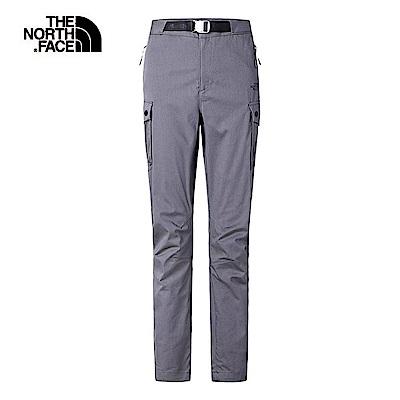 The North Face北面女款灰色防潑水休閒長褲|3V4LHCW