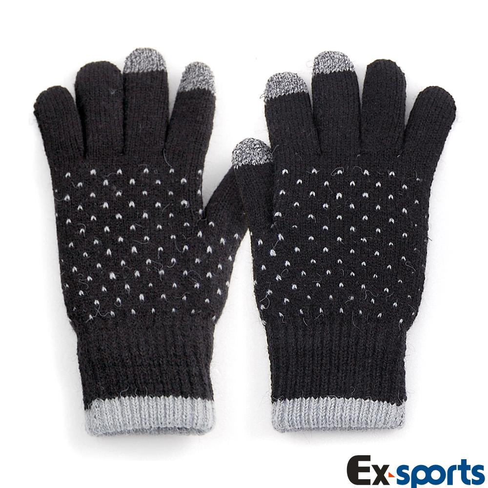 Ex-sports 觸控手套 智慧多功能(女款-601黑)
