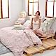 義大利La Belle 莉亞公主 特大天絲四件式防蹣抗菌吸濕排汗兩用被床包組-粉色 product thumbnail 1