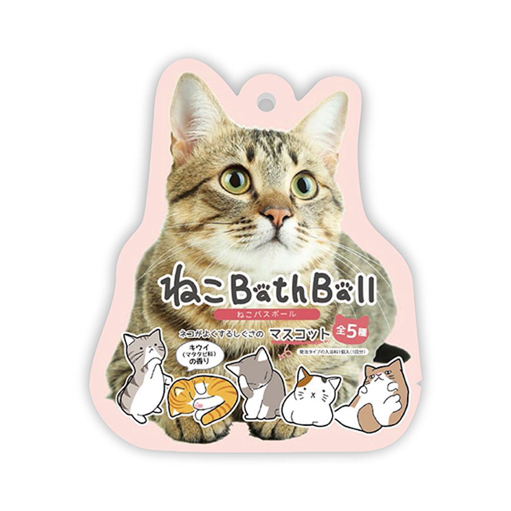 日本NOL-可愛喵入浴球1入