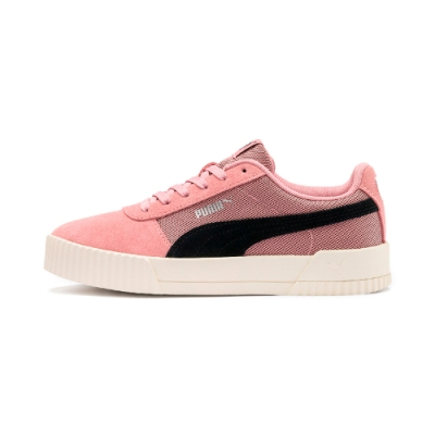 PUMA-Carina Lux SD 女性復古休閒鞋-新娘玫瑰