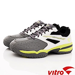 Vitro韓國專業運動品牌-SMASH-T-W/G網球鞋-灰白(女)