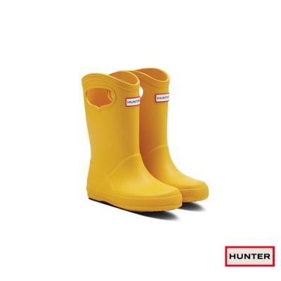 HUNTER - 童鞋 - Original小童經典雙耳霧面短靴 - 黃