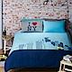 Yvonne Collection 紐約金剛加大三件式被套組+壓縮枕一對- 丈青 product thumbnail 1