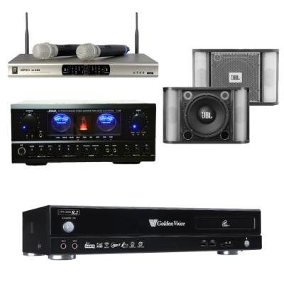 金嗓 R2+SUGAR A-500+JBL RM-8+MI-888(伴唱機 4TB+卡拉OK套組)