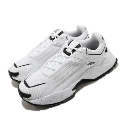 Reebok 慢跑鞋 DMX Series 3000 男女鞋 經典款 舒適 避震 簡約 情侶穿搭 白 黑 FV2328