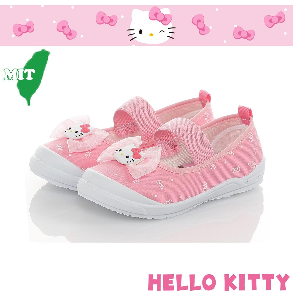 HelloKitty童鞋 輕量減壓防滑防臭幼稚園室內鞋-粉