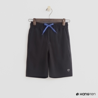 Hang Ten -童裝 - ThermoContro-亮色抽繩運動短褲 - 黑