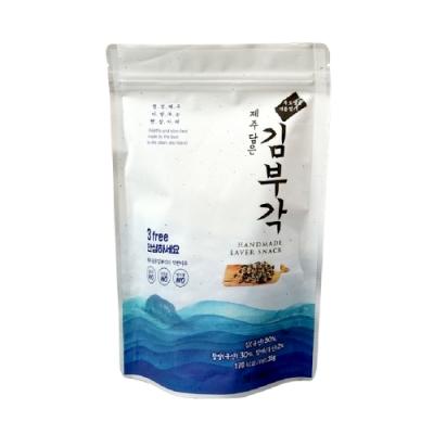 韓國【Jeju Mami】濟州媽咪 濟州大海的禮物 純手工海苔捲(35g)