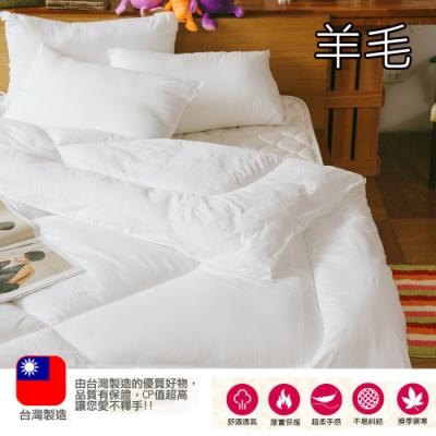 (限時下殺) eyah 台灣製造羊毛好手感熱暖被 雙人