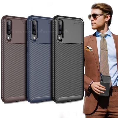 爵士焦點 Samsung Galaxy A30s/A50s 碳纖維防指紋軟式手機殼