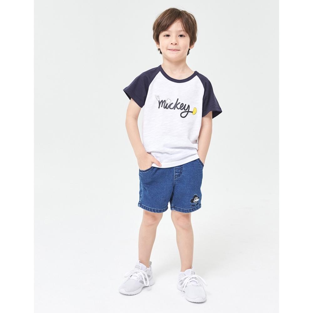 CACO-米奇手掌小物短褲-親子款-童【YDI055】
