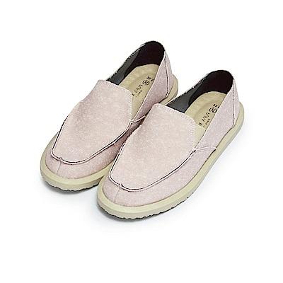 BuyGlasses 多色縫邊質感懶人鞋-粉