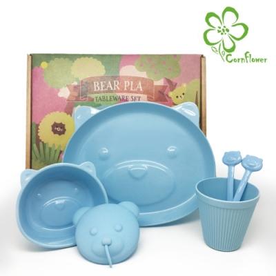 Cornflower 熊熊餐具禮盒5入組
