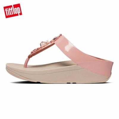 FitFlop FINO EMBELLISHED TOE-THONGS夾腳涼鞋-女(玫瑰粉)