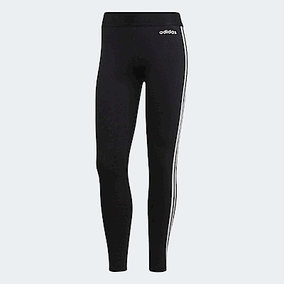 adidas 緊身褲 ESS 3 Stripes Tights 女
