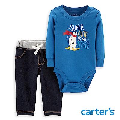 Carter's 滑雪北極熊二件組套裝
