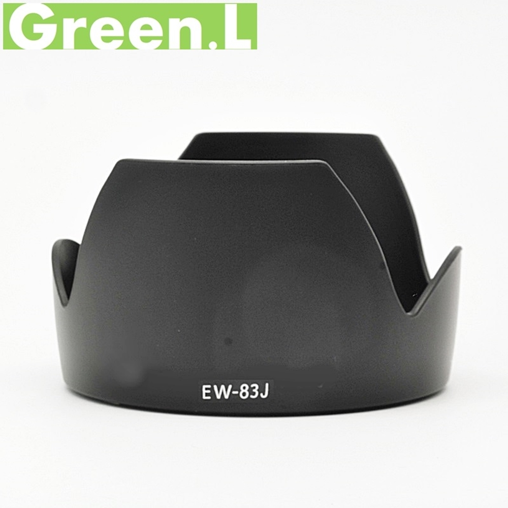 GREEN.L 副廠Canon遮光罩EW-83J適用EF-S 17-55 f/2.8 IS USM