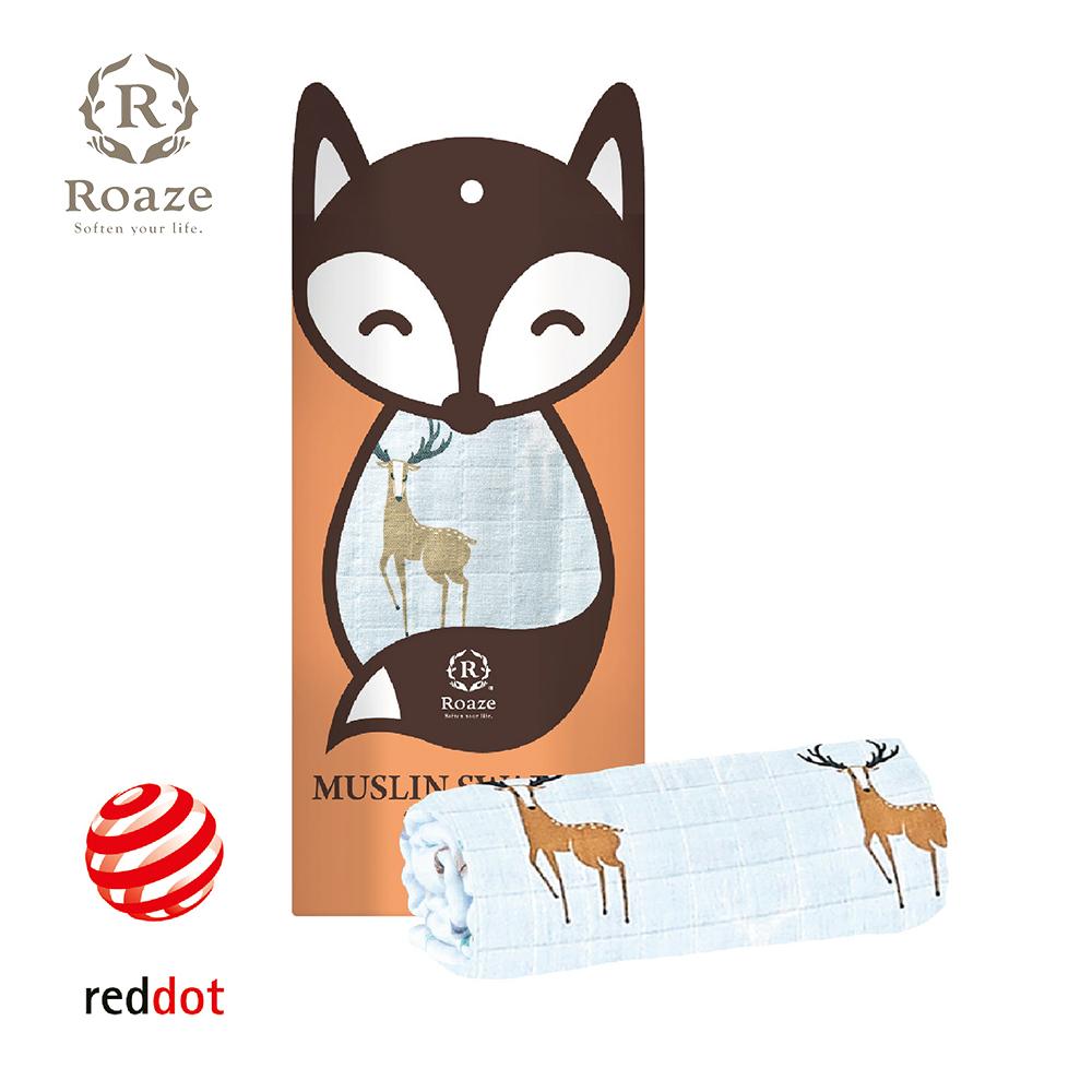 【Roaze 柔仕】 棉柔包巾毯 -迷幻馴鹿