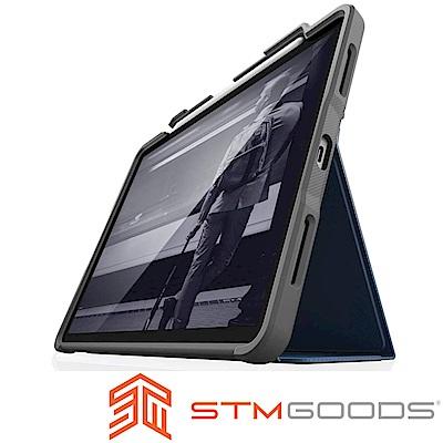 澳洲 STM Dux Plus iPad Pro 12.9吋(第三代)軍規防摔平板殼-深藍