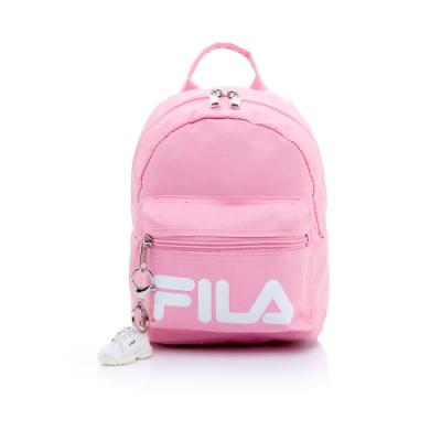 FILA 小型後背包(附鑰匙圈)-粉紅 BPT-5103-PC