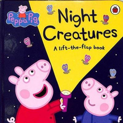 Peppa Pig:Night Creatures 夜間動物大集合翻翻書