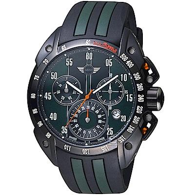MINI Swiss Watches經典設計時尚腕錶(MINI-160103)-綠