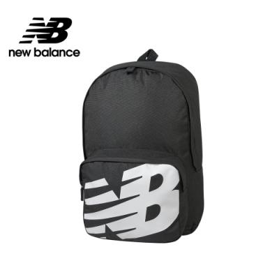 【New Balance】大LOGO後背包_中性_黑色_BG01009GBK