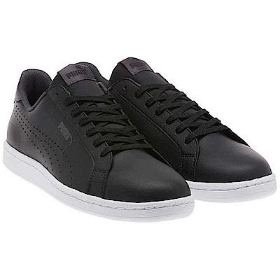 PUMA-Smash Perf C男性復古網球運動鞋-黑色