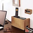桐趣 小木屋電線收納盒(小)-幅30cm