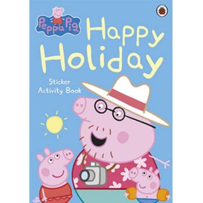 Happy Holiday Sticker Activity Book 佩佩豬的歡樂假期貼紙平裝本