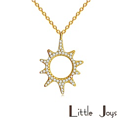 Little Joys 原創設計品牌 Sun Zircon 小太陽鋯石項鍊 925銀鍍金