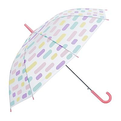 樂嫚妮 自動開傘/直立雨傘-馬卡龍方塊