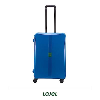 LOJEL OCTA2 26吋拉桿箱 藍色 PP材質 框架 密碼扣鎖
