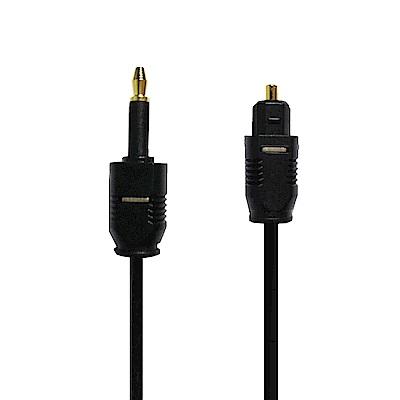 g-IDEA 數位光纖方口轉圓口音效線(3m)