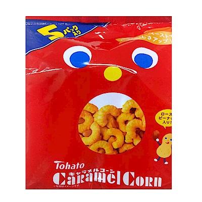 日本東鳩 5袋焦糖風味乖乖餅(105g)
