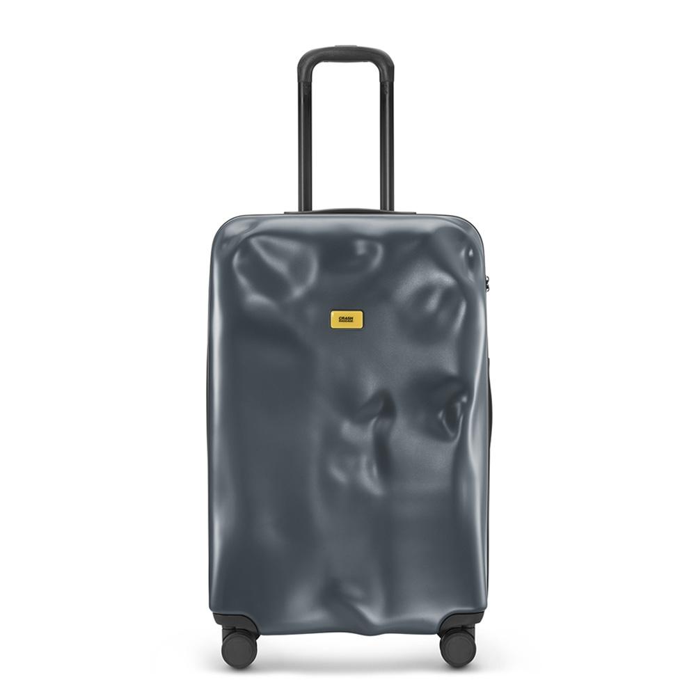 【Crash Baggage】Icon拉鍊款29吋深灰防撞行李箱