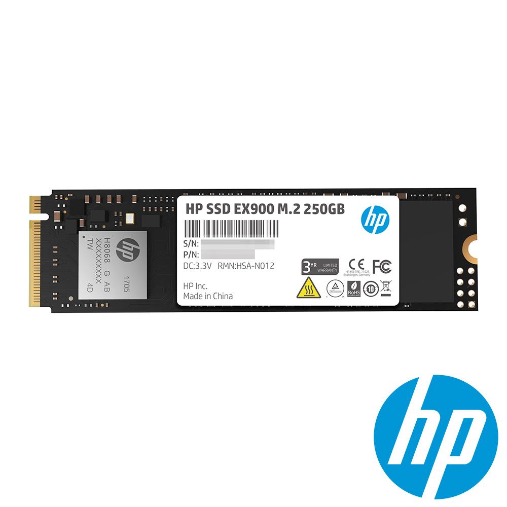 HP EX900 250G M.2 SSD固態硬碟(三年保)