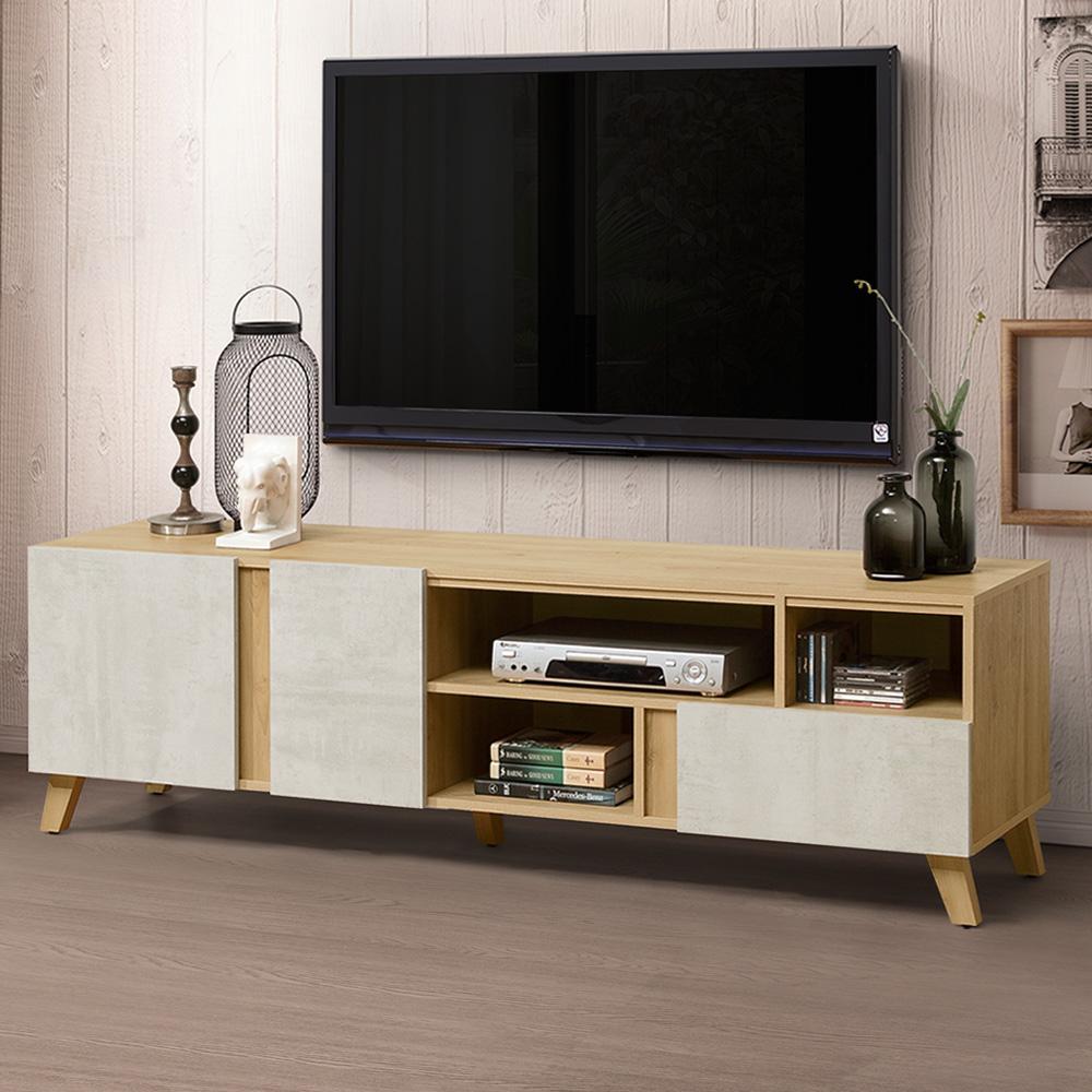 Homelike 蜜雪兒6尺電視櫃-180x47x56cm-免組裝