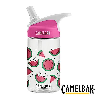 《CAMELBAK》兒童吸管運動水瓶 西瓜甜心 400ml (CB1579101140)