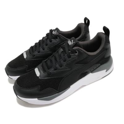 Puma 休閒鞋 X-Ray Lite 運動 男鞋 基本款 舒適 簡約 球鞋 穿搭 厚底 黑 白 37412201