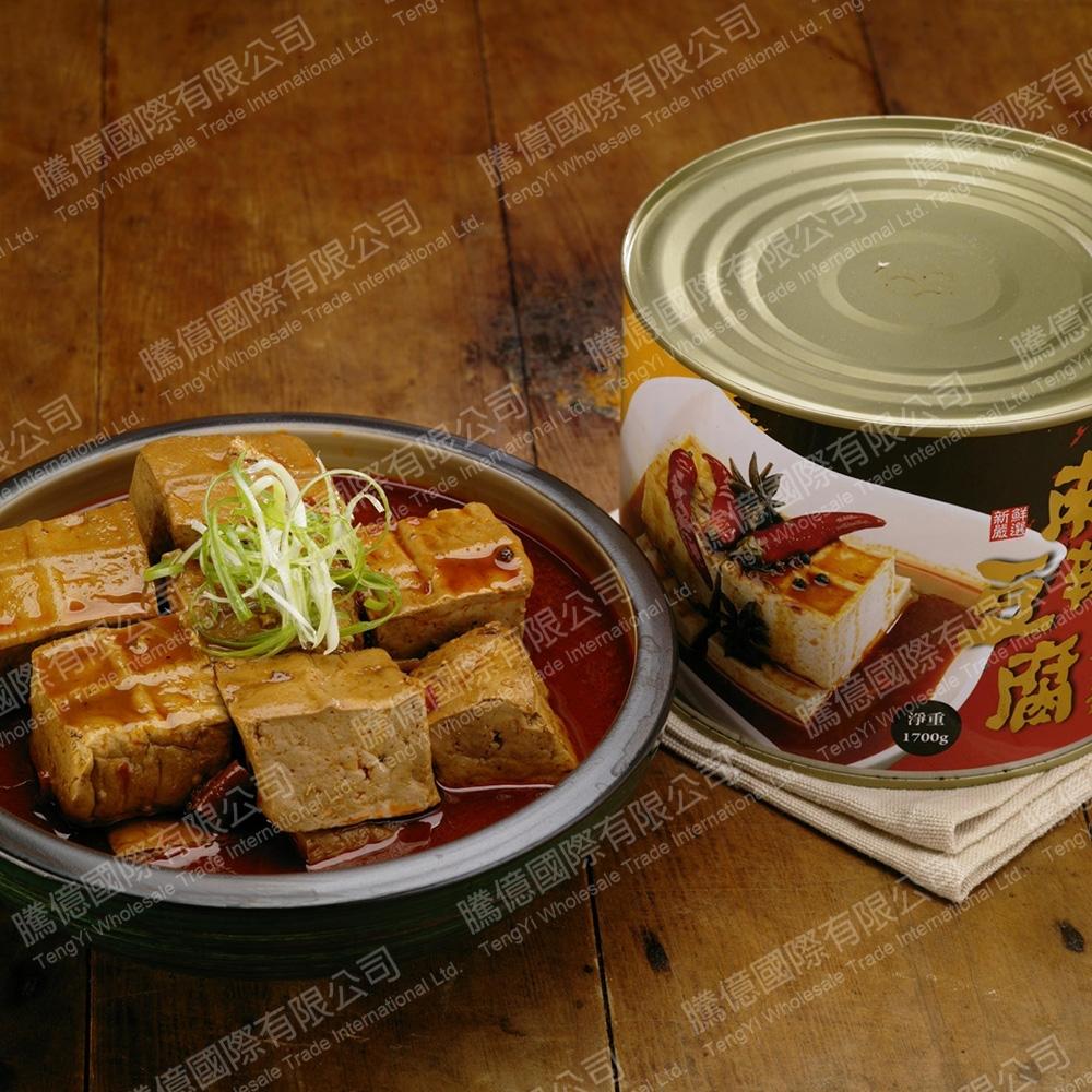 台灣在地ㄟ尚好  麻辣豆腐罐頭2罐組(1700g/罐)