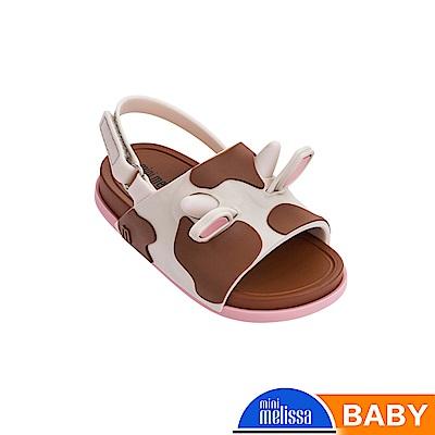 Melissa 可愛動物系乳牛涼鞋-寶寶款-米色